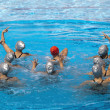 Synchronized swimmers — Stock Photo #23741971