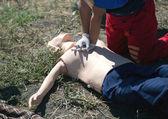 Formación en primeros auxilios — Foto de Stock