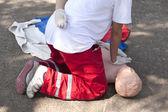 обучение скорой помощи — Стоковое фото