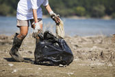 Cleaning of the environment — Stock Photo