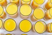 Bicchieri di succo d'arancia — Foto Stock