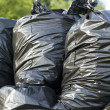 Stock Photo: Trash bags