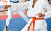 Karate — Stock Photo