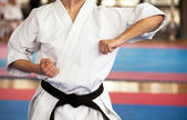 Karate träning — Stockfoto