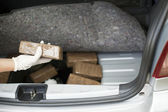 Drug smuggling — Foto de Stock
