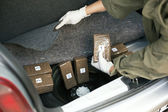 Drug smuggling — Foto Stock