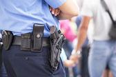 Ufficiale di polizia — Foto Stock