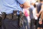 офицер полиции — Стоковое фото