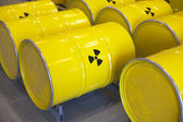 Radioactive waste — Stock Photo