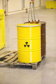 Nuclear waste — Stock Photo