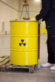 Odpady radioaktywne — Zdjęcie stockowe