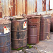 Stock Photo: Abandoned radioactive waste