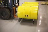 Radioactive waste — Stock Photo