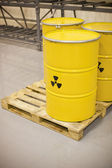 Rifiuti radioattivi — Foto Stock