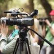 Covering an event with a video camera — Lizenzfreies Foto