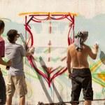 Graffiti artists — Stock Photo #24461139