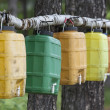 Stock Photo: Water canisters
