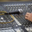 Adjusting of sound board — Stock Photo #24480861