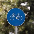 Bicycle sign — Stock Photo #24480863