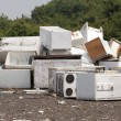 Appliances at the landfill — Stock Photo