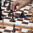 Move on the chess board — Stock Photo