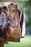 Carne ahumada — Foto de Stock