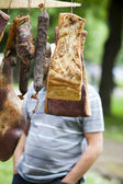 Productos de carne ahumada — Foto de Stock