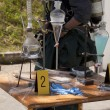 Illegal meth lab — Stock Photo
