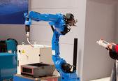 Braccio robot industriali — Foto Stock