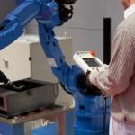 Industrial robot arm — Stock Photo #24933939