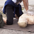 First aid training — Stock Photo #38728345
