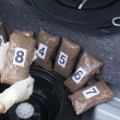Stock Photo: Drug trafficking