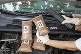 Drug smuggling — Stock Photo