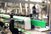 Bottling line — Stock Photo