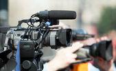 Video camera — Stockfoto