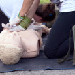 First aid training — Stock Photo #38917229