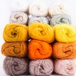 Colorful skeins of Yarn — Stock Photo #27187979