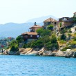 Turkis village on a seaside — Stock Photo