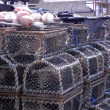 Stock Photo: Lobster trap