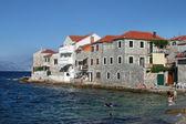 Postira on island Brac, Croatia — Stock Photo