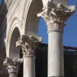 Stock Photo: Arches on Peristyle in Diocletian's palace