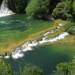Krka waterfall, National park Krka — Stock Photo