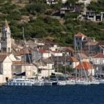 Town Vis on Vis island in Croatia — Stock Photo #25869205