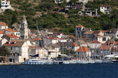 Town Vis on Vis island in Croatia — Stock Photo