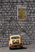 Italian - Yugoslav vintage car — Stock Photo