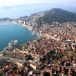 Split in Croatia, aerial view — Stock Photo