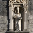 Stock Photo: Stone saint patron