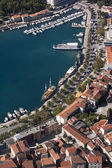Makarska, aerial view — Стоковое фото