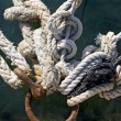 Mooring knots — Stock Photo