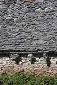 Dlažební kámen střecha — Stock fotografie